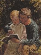 William Bromley The Lesson (mk37) oil painting artist