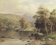 William henry mander On the Mawddach,near Dolgelly (mk37) oil painting picture wholesale