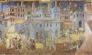 Ambrogio Lorenzetti Life in the City oil painting picture wholesale