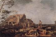 BLOEMAERT, Abraham Landscape with Peasants Resting oil painting picture wholesale