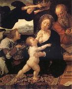 Barend van Orley Holy Family oil painting