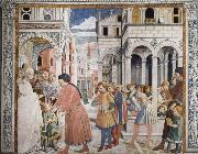 Benozzo Gozzoli The School in Tagaste oil painting picture wholesale