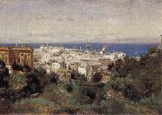Corot Camille View of Genoa oil painting picture wholesale