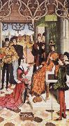 Dieric Bouts The Empress's Ordeal by Fire in front of Emperor Otto III oil painting picture wholesale
