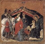 Duccio di Buoninsegna Adoration of the Magi oil painting picture wholesale