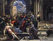 El Greco Purification of the Temple oil painting picture wholesale