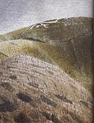 Eric Ravilious The Vale of the White Horse oil painting artist