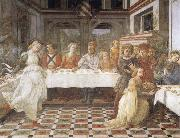 Fra Filippo Lippi The Feast of Herod Salome's Dance oil painting picture wholesale