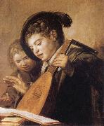 Frans Hals Two Singing Boys oil painting picture wholesale