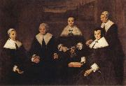 Frans Hals Regentsses of the Old Men's Almoshouse in Haarlem oil painting picture wholesale