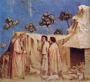 GIOTTO di Bondone Joachim Takes Refuge in the Wilderness oil painting picture wholesale