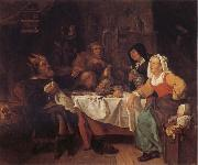 Gabriel Metsu The King Drinks oil painting picture wholesale
