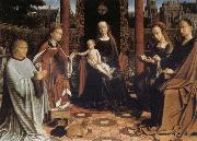 Gerard David The Mystic Marriage of St Catherine oil painting picture wholesale