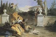 Giambattista Tiepolo Recreation by our Gallery oil painting artist