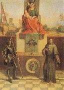 Giorgione Virgin and CHild with SS Francis and Liberalis oil painting artist