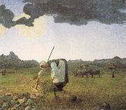 Giovanni Segantini The Hay Harvest oil painting picture wholesale