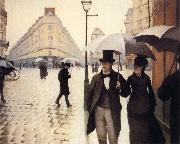 Gustave Caillebotte A Rainy Day oil painting picture wholesale