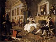 HOGARTH, William Marriage a la Mode:Shortly after the Marriage oil painting picture wholesale
