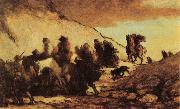 Honore Daumier The Emigrants oil painting artist