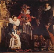 Jacob Jordaens The Family of the Artist oil painting picture wholesale