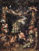 Jan Brueghel The Elder The Holy Family oil painting picture wholesale