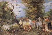 Jan Brueghel The Elder The Animals entering the Ark oil painting picture wholesale