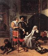 Jan Steen Doctor's Visit oil painting picture wholesale
