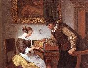 Jan Steen The Harpsichord Lesson oil painting picture wholesale