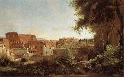 Jean Baptiste Camille  Corot View of the Colosseum from the Farnese Gardens oil painting picture wholesale