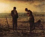 Jean Francois Millet The Evening Prayer oil painting picture wholesale