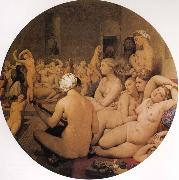 Jean-Auguste Dominique Ingres The Turkish Bath oil painting