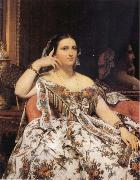 Jean-Auguste Dominique Ingres Madame Motessier Seated oil painting