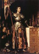 Jean-Auguste Dominique Ingres Joan of Arc at the Coronation of Charles VII in Reims oil painting