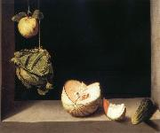 Juan Sanchez-Cotan Still life with quince,cabbage,Melon and Cucumber oil painting picture wholesale