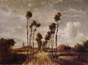 Meindert Hobbema Avenue at Middelharnis oil painting picture wholesale