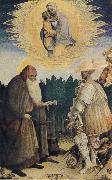 PISANELLO The Virgin and Child with the Saints George and Anthony Abbot oil painting picture wholesale