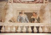 Paolo Veronese Giustiana Barbaro and her Nurse oil painting picture wholesale