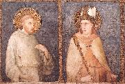 Simone Martini t Francis and St Louis of Toulouse oil painting picture wholesale