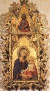 Simone Martini Madonna and Child with Angels and the Saviour oil painting picture wholesale