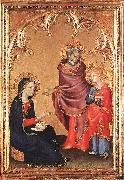 Simone Martini Christ Returning to his Parents oil painting picture wholesale