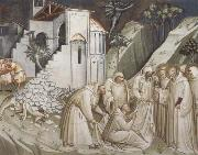 Spinello Aretino St.Benedict Revives a Monk from under the Rubble oil painting picture wholesale
