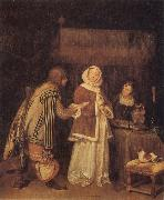 TERBORCH, Gerard The Letter oil painting picture wholesale