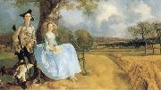 Thomas Gainsborough Robert Andrews and his Wife Frances oil painting picture wholesale