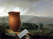 Thomas Guest Grave Group from a Bell Barrow at Winterslow Spain oil painting artist