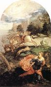 Tintoretto St George and the Dragon oil painting artist