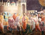 UCCELLO, Paolo Stoning of St Stephen oil painting picture wholesale