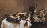 Willem Claesz Heda Still Life oil painting artist