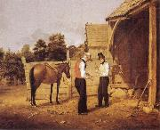 William Sidney Mount The Horse Dealers oil painting picture wholesale
