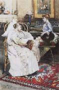 unknow artist The convalescent oil painting picture wholesale