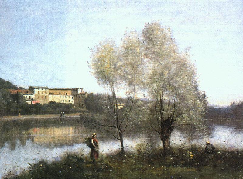 Jean Baptiste Camille  Corot Ville d'Avray oil painting image
